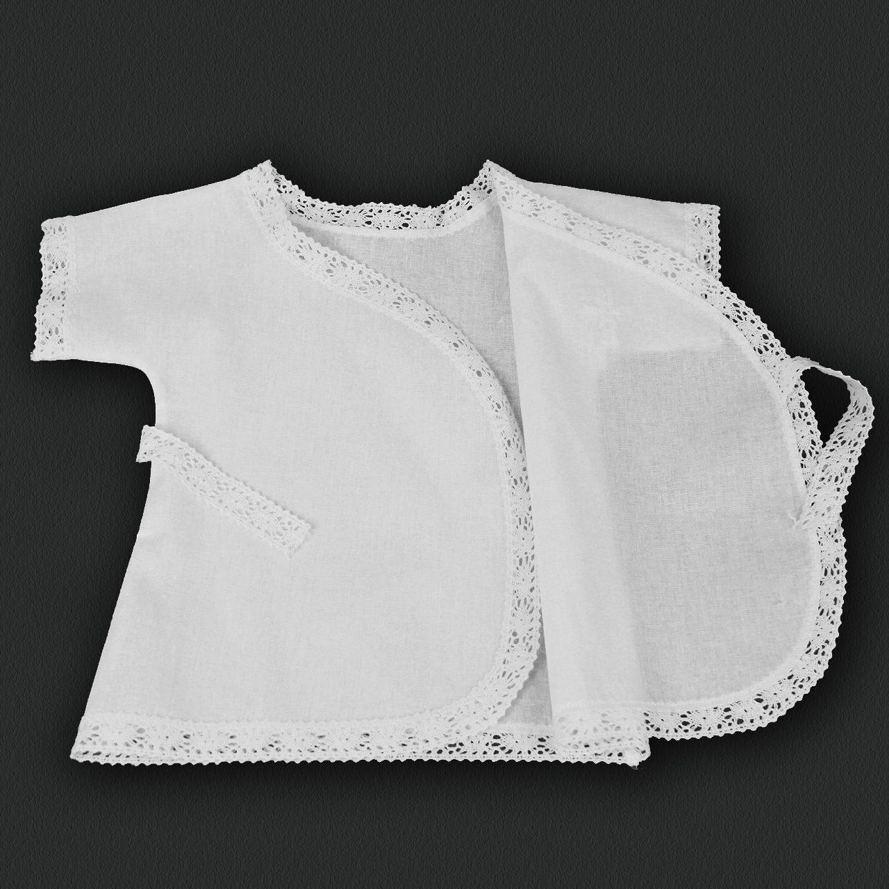 Шьем крестильную рубашку с кружевными вставками Ярмарка Мастеров 46