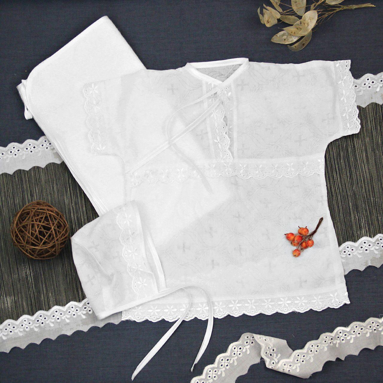 Как сшить крестильную рубашку для мальчика